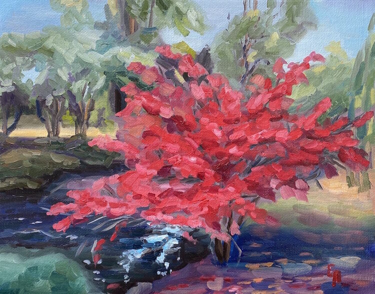 Red Leaves - £350