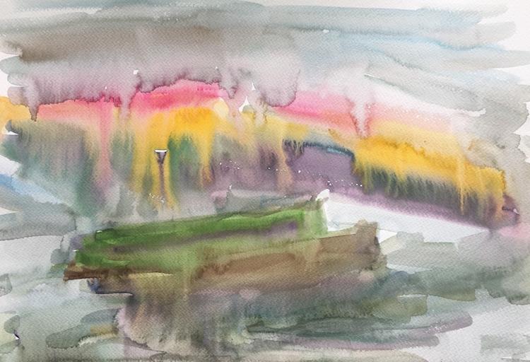 Melancholy v5 (Autumn Walk to the Hampton court Bridge)