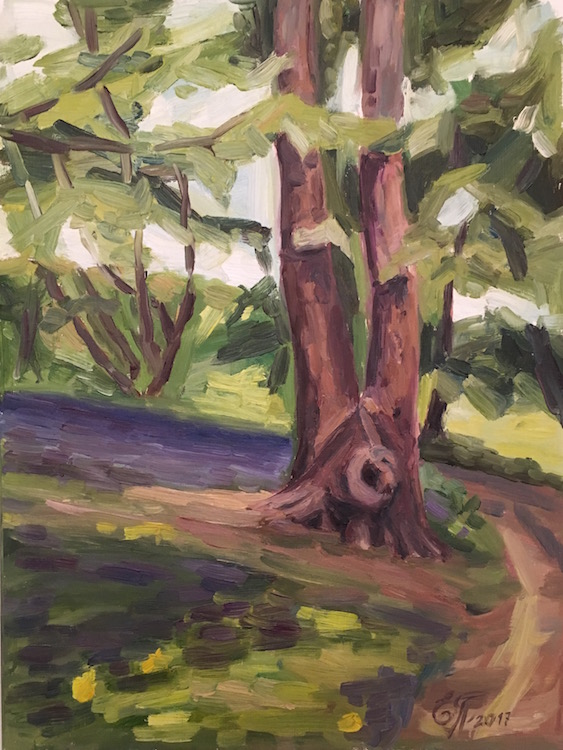 Across the Painshill Park - £270