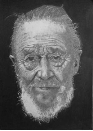 Grandpa 2010 Graphite on paper