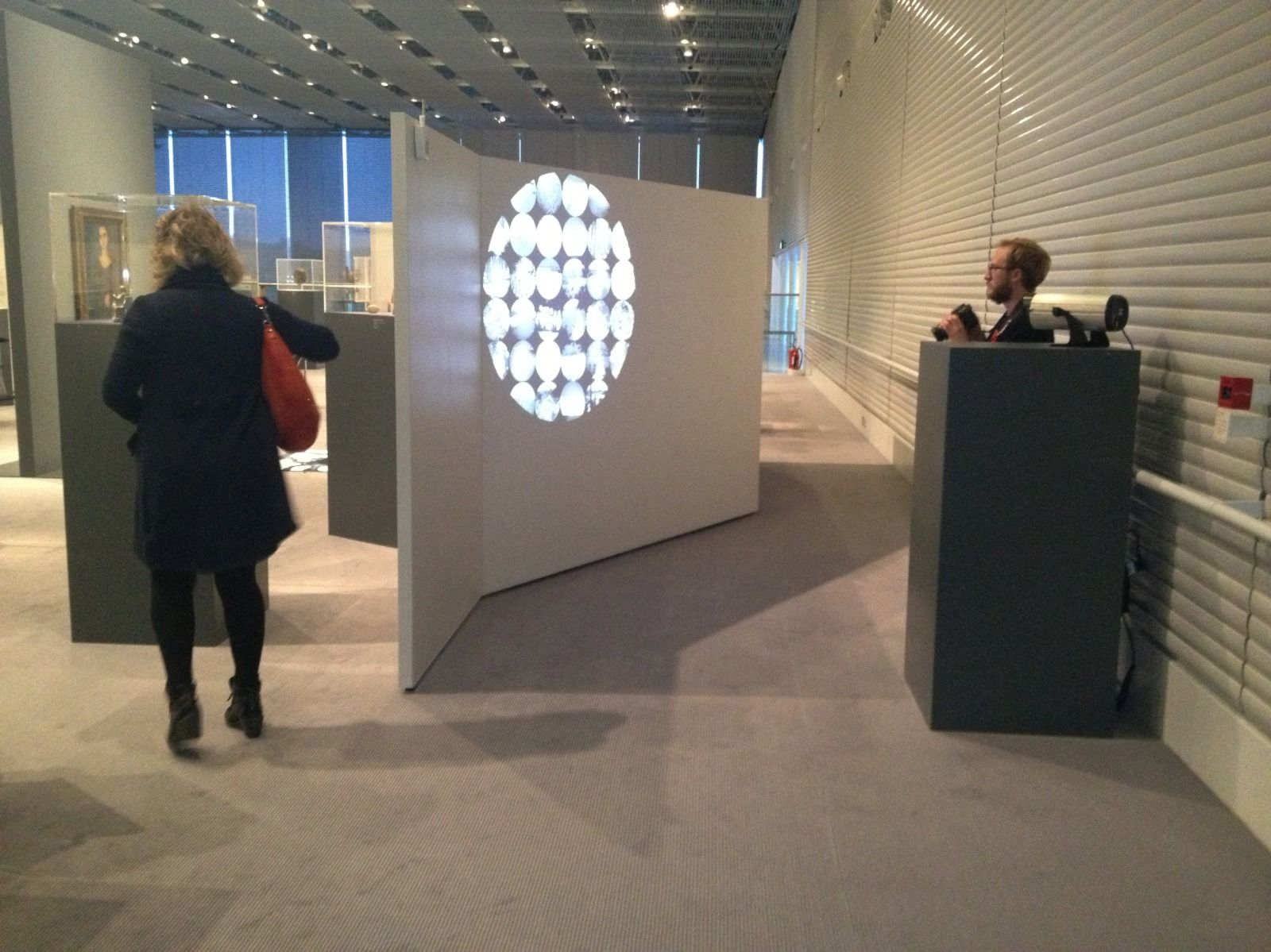 (Untitled) 2012 Projection in The Sainsbury Centre for Visual Arts