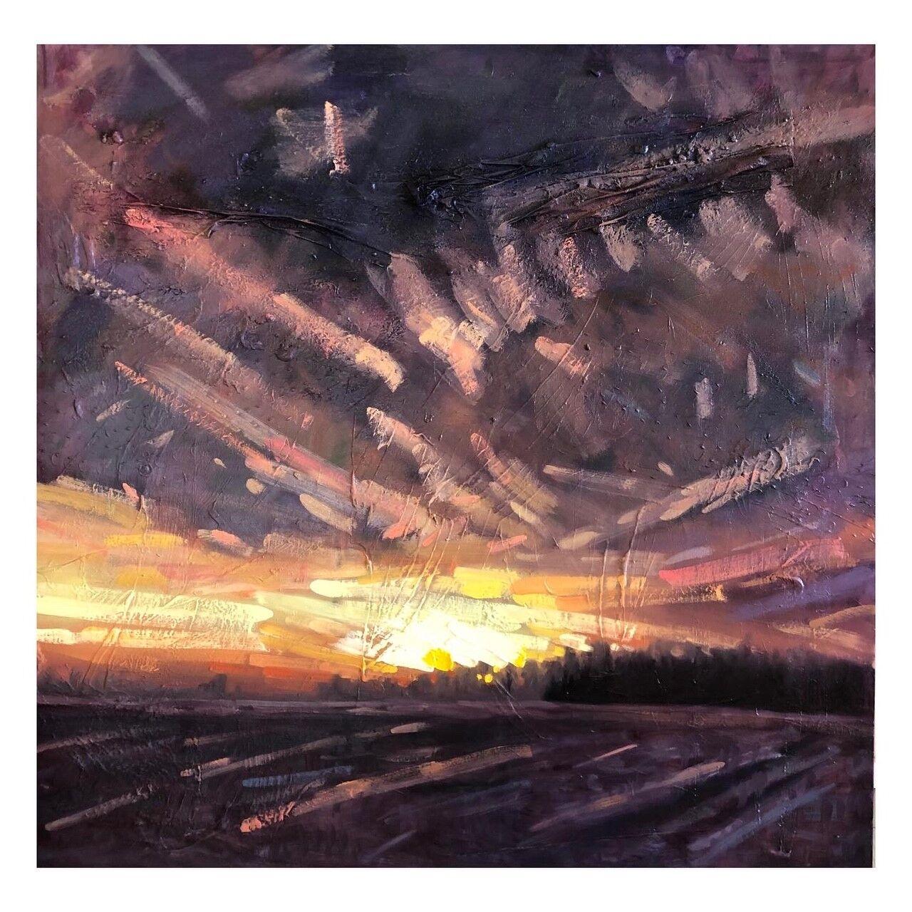Sunset over Houghton