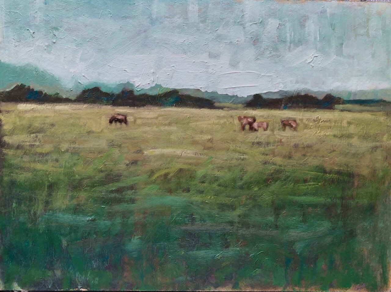 Farm animals in a field