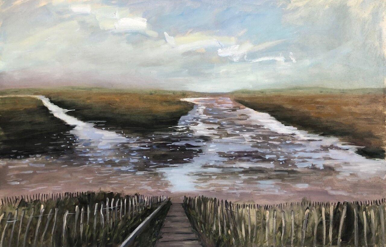 Holkham at low tide (sold)