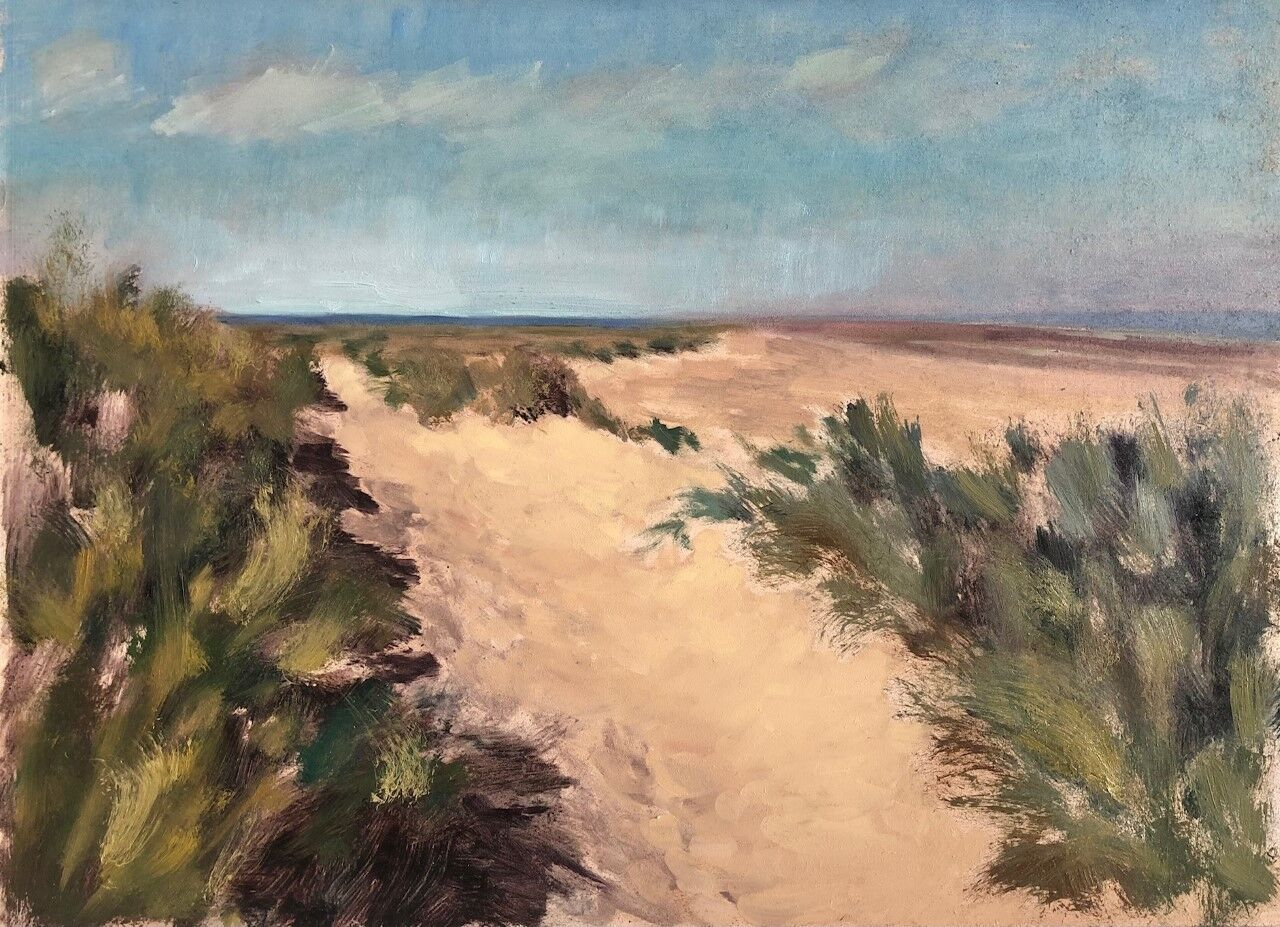 Dunes at Wells, looking out towards Holkham