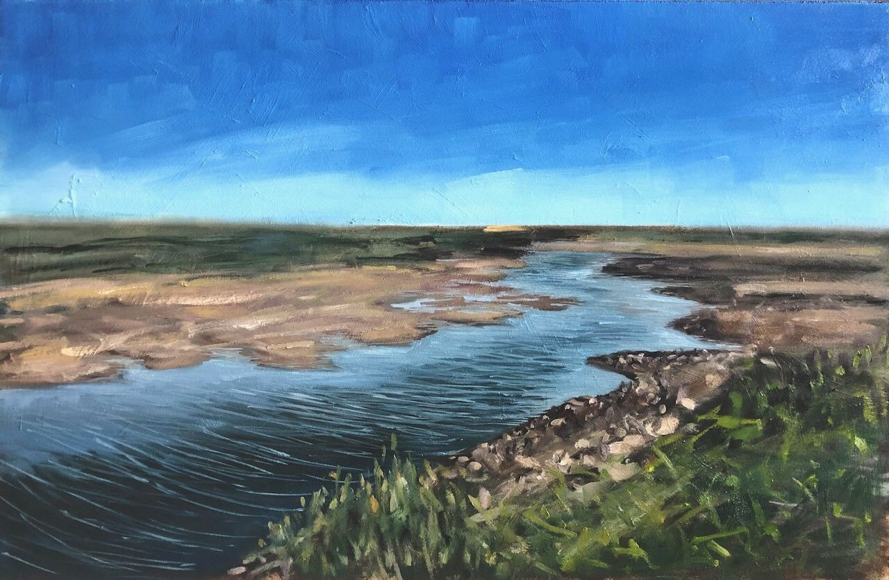 Burnham Overy, looking out towards Scolt Head Island (sold)