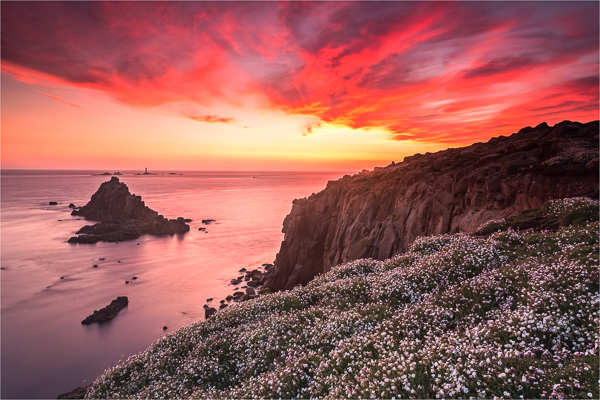 3rd= DPI-Sunset and flowers at Lands End