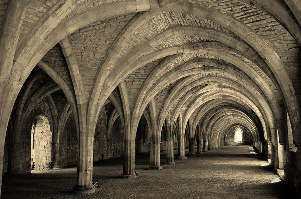 HC=   The Cellarium at Fountains Abbey