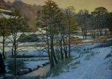 Frozen Iford Valley