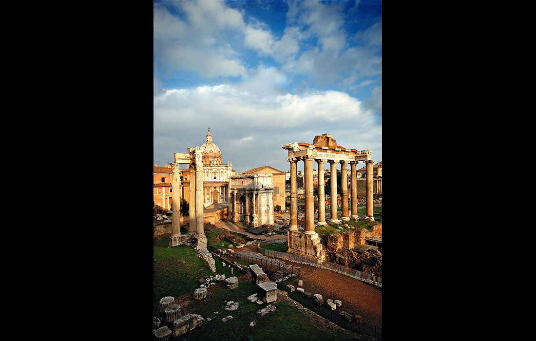 Foro Romano, Rome, 2007