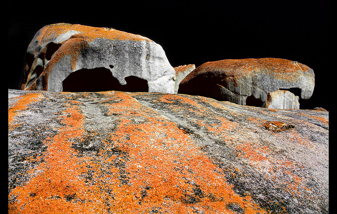 Remarkable Rocks. Australia 1989