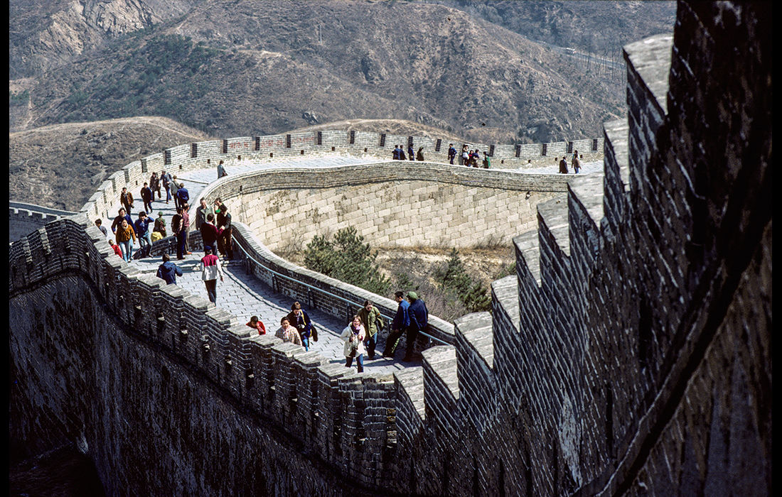 The Great Wall of China, 1982