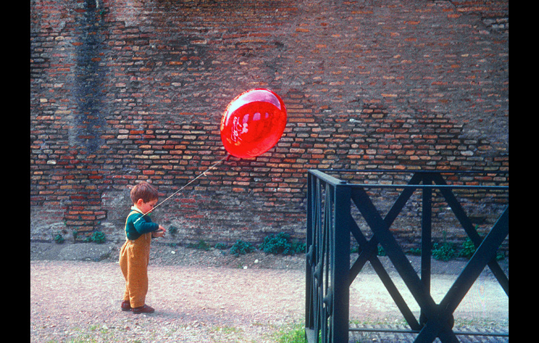 The red balloon, Rome c.1970