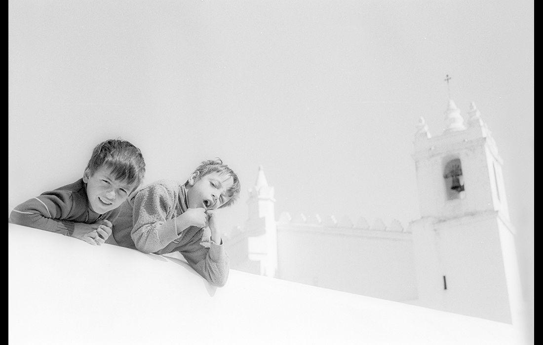 Youths, Evora, Portugal c.1985