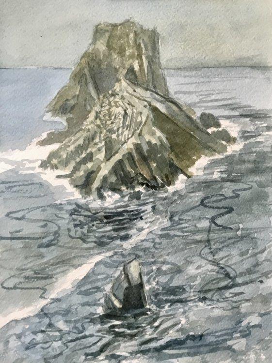 Rock stacks, Malin Head