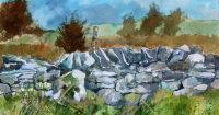 Glenagivney drystone wall