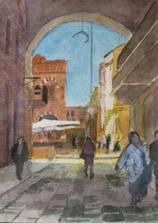 Piazza Erbe, Verona