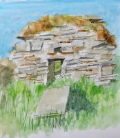 North end of old church, Cooley, Moville