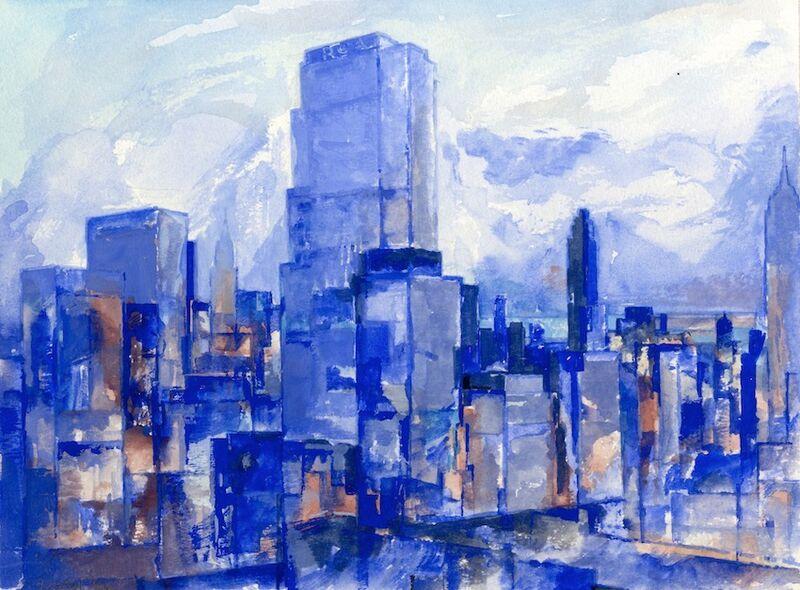 Blue city 1