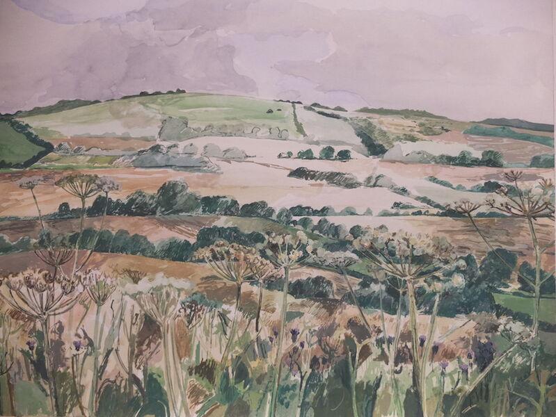 Landscape with umbellifers