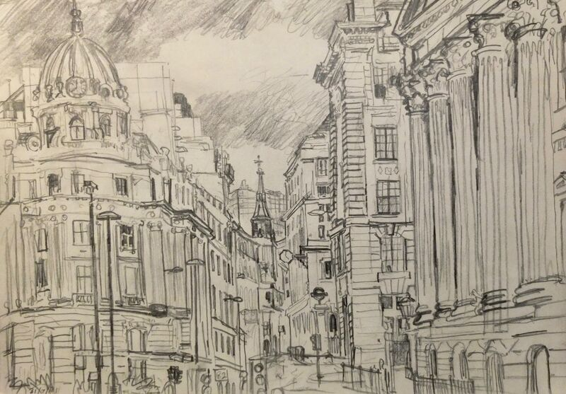 City drawing 2