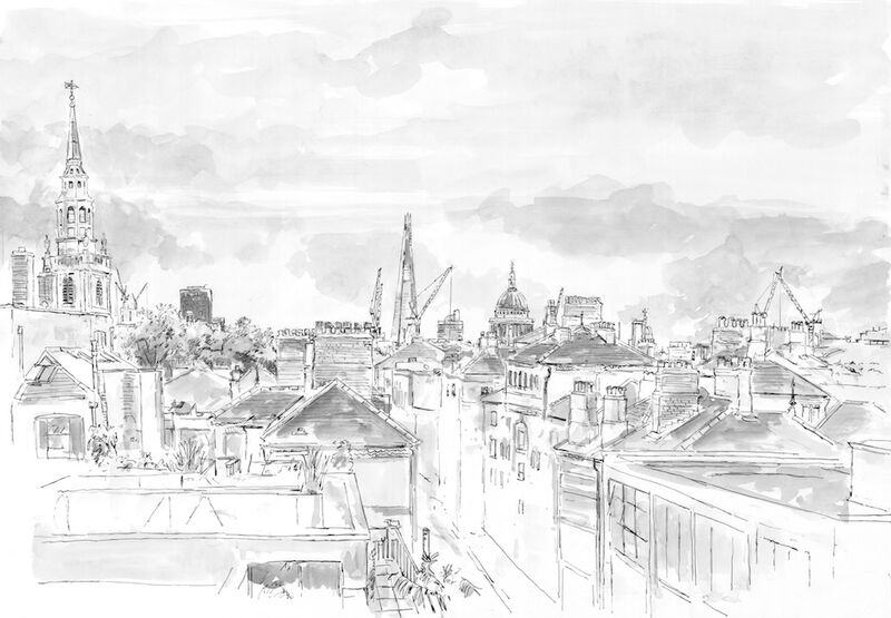Clerkenwell rooftops