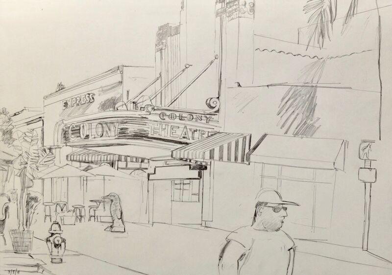 Colony Theatre, Lincoln Rd.