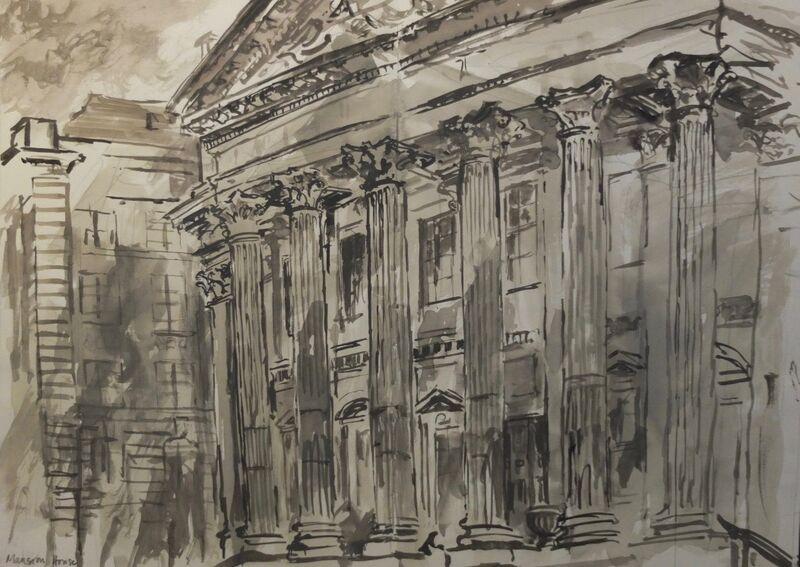 City drawing 3