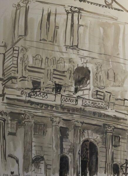 City drawing 4