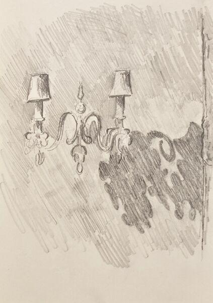 Noir wall lights