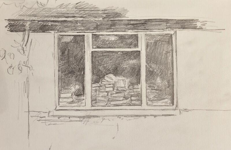 Window of books