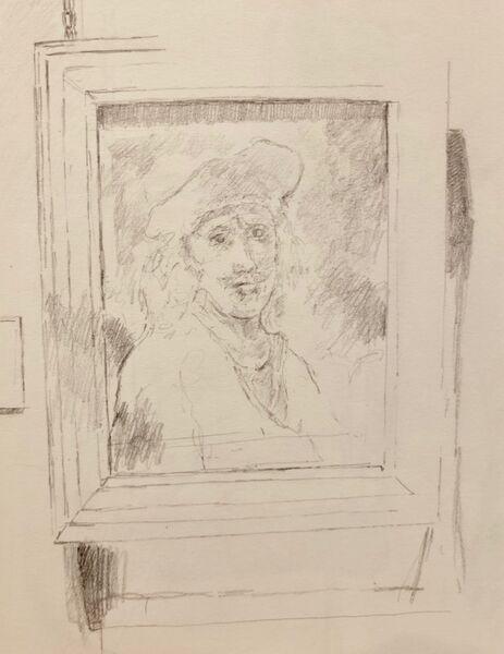 Not quite a Rembrandt