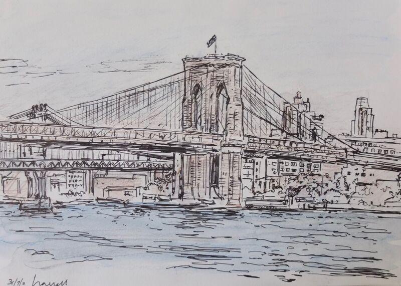 Brooklyn Bridge from Seaport