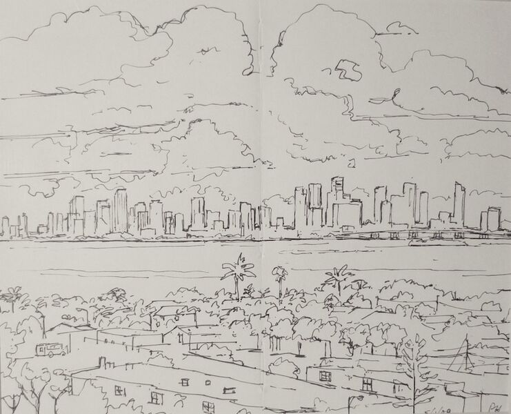 Downtown from Treasure Island 1