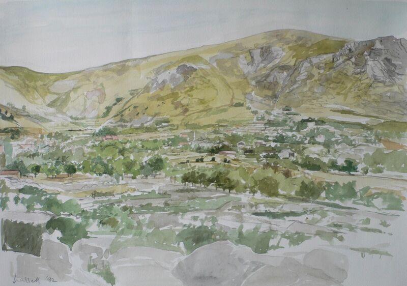 Landscape near Bustarviejo 2