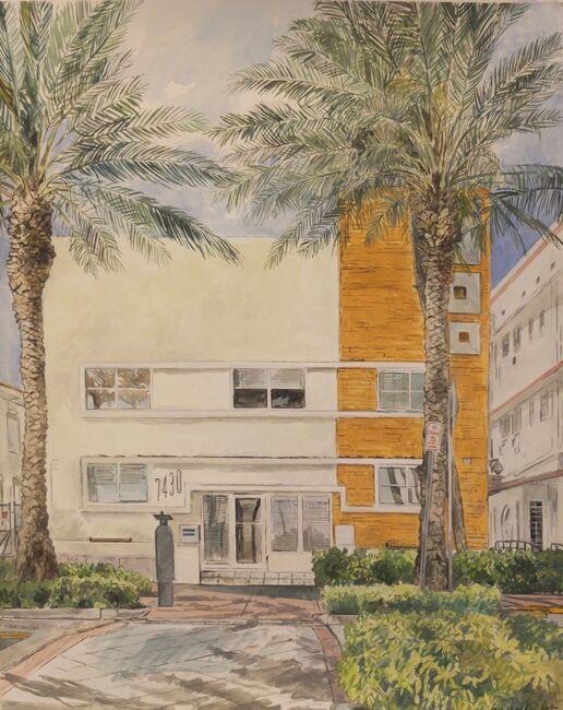 Mimo apartment block, Ocean Terrace