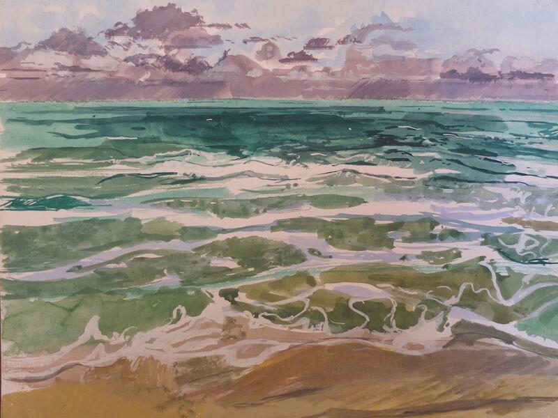 Stormy seascape 2