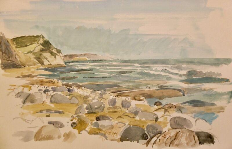 Seashore, Lyme Regis