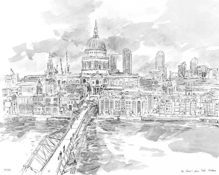 St. Paul's from Tate Modern