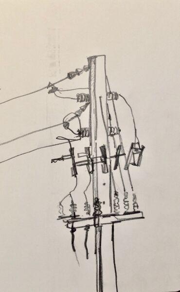 Telegraph pole 1