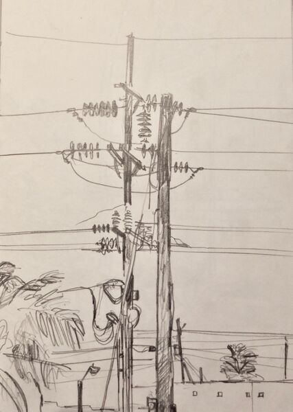 Telegraph pole 2