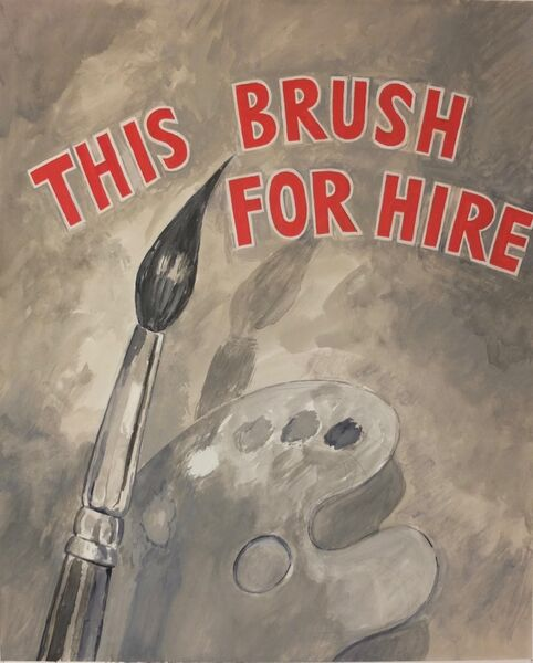 This brush for hire