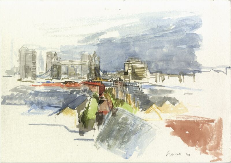 Tower Bridge from Wapping