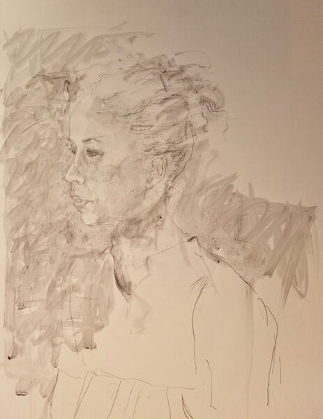 Woman's head 4