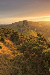 Corfe Castle - Winter sunrise