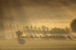 Long shadows in Pewsey Vale