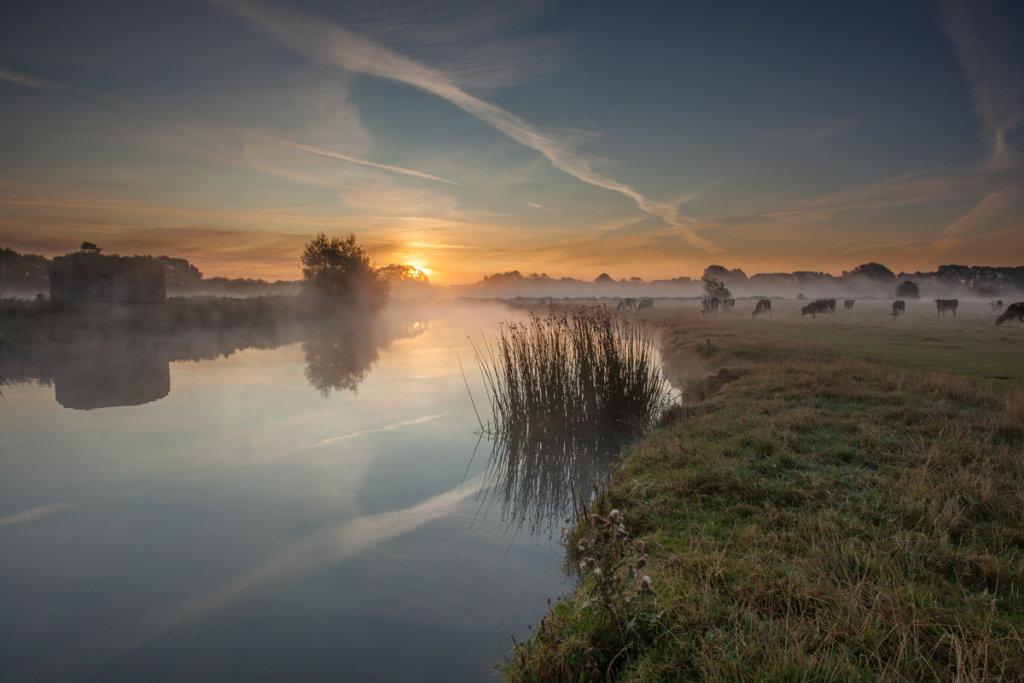 Sunrise at Lechlade