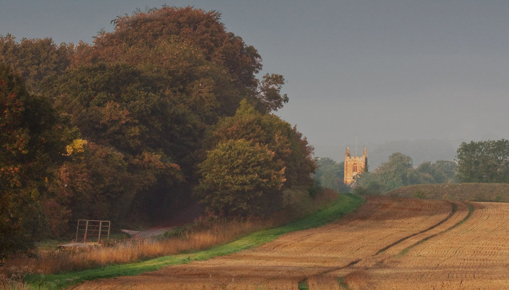 Looking Towards Avebury Church