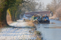 Winter on the Kennet & Avon Canal