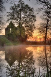 The Ruins of Minster Lovell Hall